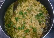 Green Peas Pulav