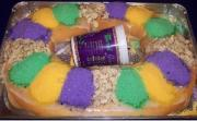 King Cake Is 'Sinfully' Rich!