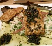 Steamed Salmon With Parsley Butter
