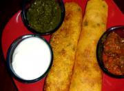 Rava Dosa with Spaghetti (Pooda)- Semolina Crepes