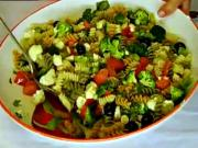 Fresh Garden Pasta Salad with Balsamic Vinaigrette