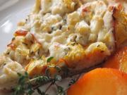 Peach, Gorgonzola & Thyme Pizza