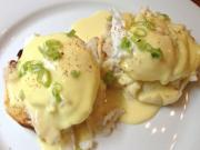 Poached Eggs in Cheese Sauce
