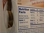 Nutrition Label Accuracy Test