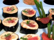 Low Carb Hot and Spicy Tuna Sushi Rolls