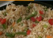 Indo-Chinese Vegetable Fried Rice -Fusion