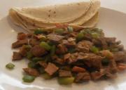 Alambre Steak Tacos