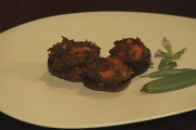 About Mushroom Pops Served with Squash