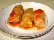 Sausage Stuffed Cabbage Rolls