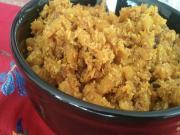 Exotic Coconut Beetroot Masala (Indian Vegetarian Food)