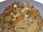Chinesische Nudeln Rezept Kochen Sojasoße - Vegan mit Attila