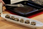 Wild Rice Stuffed Mushroom Caps