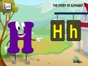 The H Song | Letter H Song | Story of Letter H | ABC Songs