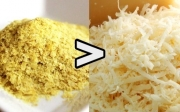 Nutritional yeast  vs cheese