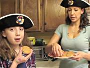 How to Make Vegan Peanut Butter Pirate Cookies