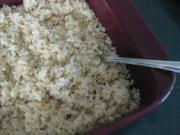 Tips To Freeze OVen Baked Rice