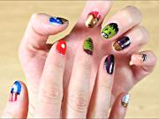 Avengers Nail Art Tutorial