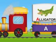 A to Z Animals Train | Animals Sounds | A-Z Animals
