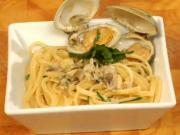 Linguine Cooked in White Clam Sauce