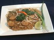 Shrimps And Egg Pad Thai