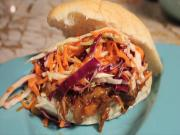Vegan Pulled Pork Sandwich