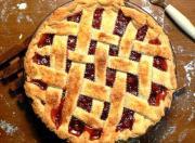 Cranberry Lattice Pie