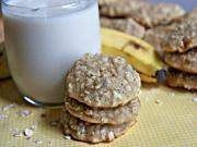 Fluffy Banana Oatmeal Cookies