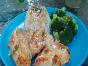 "Healthy Asian Lemon Chicken - A Homemade ""Lean Cuisine"" Style Meal"