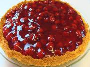 Betty's Cherry Cheese Pie