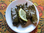 Stuffed Greek Grape Leaves