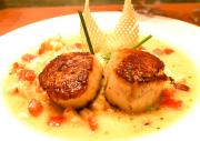 Scallops With Cheese Sauce