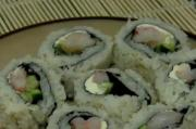 Shrimp in a Sushi Roll