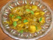 Simple Onion Prawn Curry