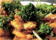 Delicious Malaysian Broccoli and Prawn Salad