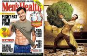 Vikas Khanna On Men's Health cover.