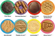 Girl scout cookies made at home