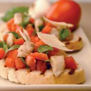 Pickled Herring Bruschetta - Delicious Sourdough Starters