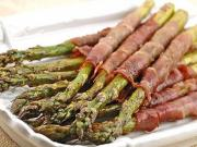 Asparagus Tips Monte Carlo (hors d'oeuvre)