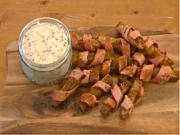 Seasoned Bacon Wrapped Oven Chips