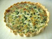 Goat's Cheese Quiche