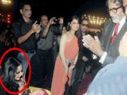 Amitabh Bachchan & Rekha Spotted Together at 20th Screen Awards 2014