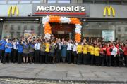 McDonald's Olympics restaurant was visited by throngs of athletes post the closing ceremony.