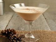Bourbon Brandy Eggnog Cocktail