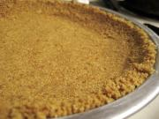 Microwaved Graham Cracker Crust