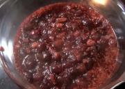 Orange spiked Cranberry Sauce