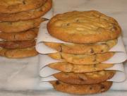 Freezer Peanut Butter-Chocolate Chip Cookies