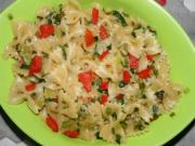 Quick and Easy Leek and Parsley Pasta