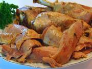 Betty's Slow Cooker Turkey Legs -- Thanksgiving