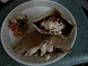 Fish Falafel & Savory Mexi-Toast