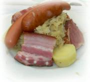 Enjoy the lovely taste of choucroute garnie